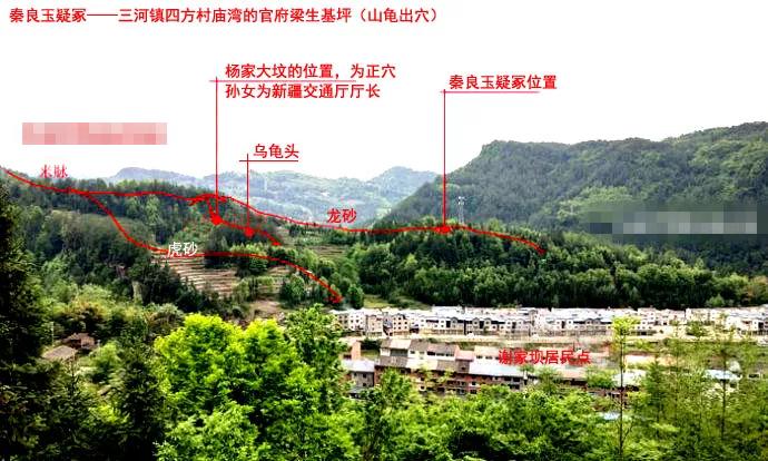 墓地风水之秦良玉7大疑冢分析!