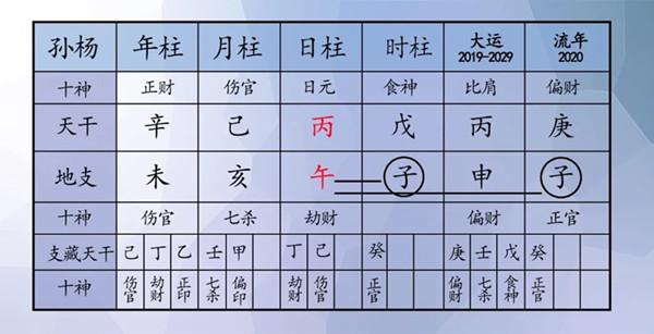 由肖战和孙杨的八字分析,属羊的人在庚子鼠年是否都很倒霉?