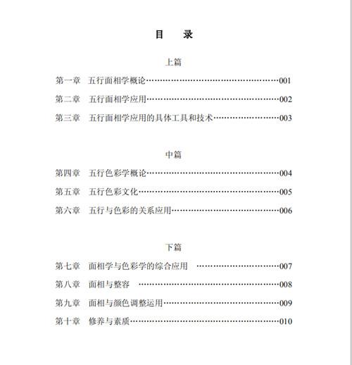 张京宏《易经五行面相学与色彩文化研究》!