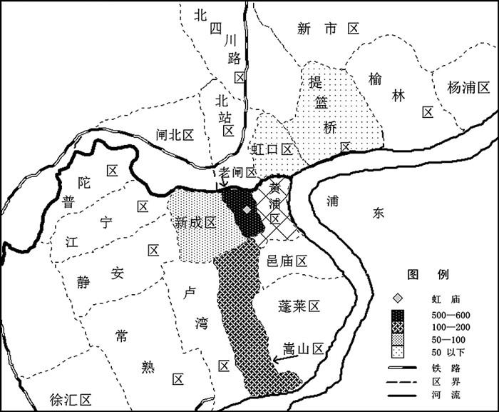 """上海民间传言灵得邪门的地方""""虹庙"""",竟是妓女专用庙?"""