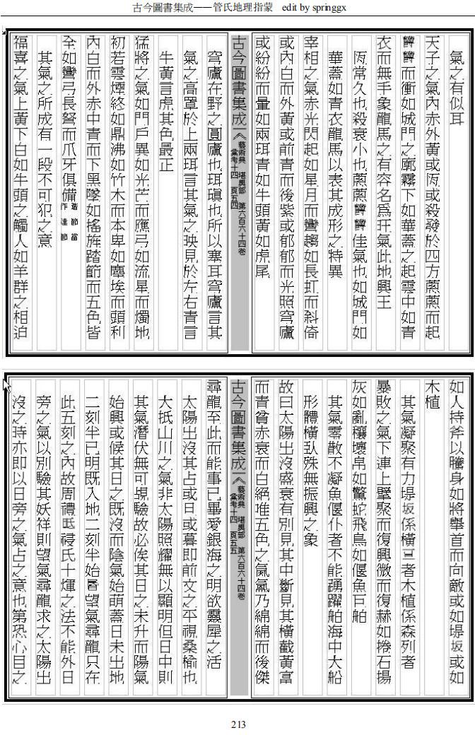 《管氏地理指蒙》pdf电子版(术藏第25卷)