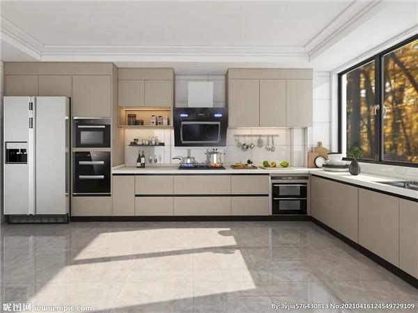 厨房内部格局的最优空间结构