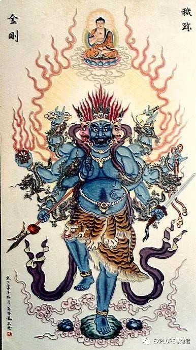 民间道教里的佛教密宗法门